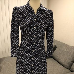NEW Veronica Beard Kingsley Silk Dress